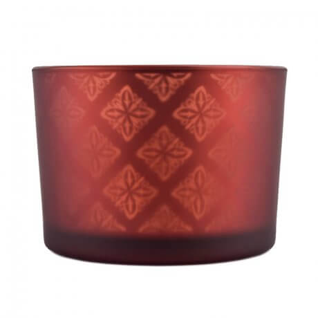 Red Shadowfire Triple Wick Front View