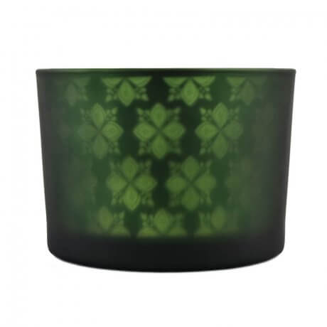 Green Shadowfire Triple Wick Front View