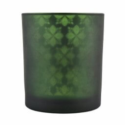 Green Shadowfire Single Wick Front View