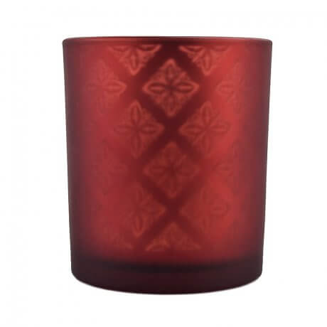 Red Shadowfire Single Wick Front View